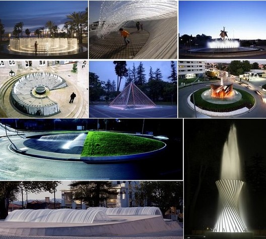 WATER AND ART FOUNTAINS CONCEIVED BY GHESA� DESIGN TEAM