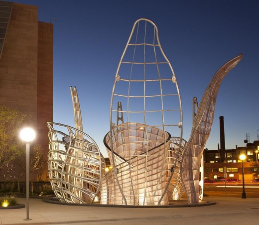 Dennis OPPENHEIM, Light Chamber (2010). Denver, Colorado (U.S.A)