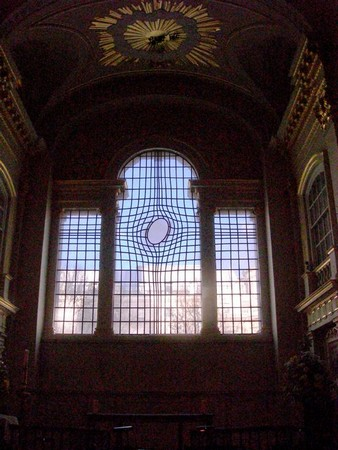 Shirazeh HOUSHIARY, New East Window (2008). St Martin-in-the-Fields Church (London)